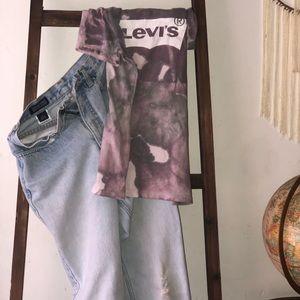 Levi's tye dye T